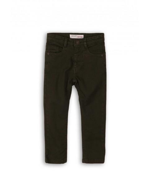 Spodnie chłopięce dzianinowe czarne