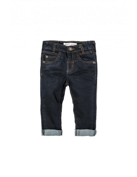 Spodnie chłopięce jeansowe 1L33AN