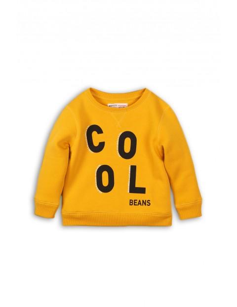 Bluza dresowa niemowlęca - żółta Cool
