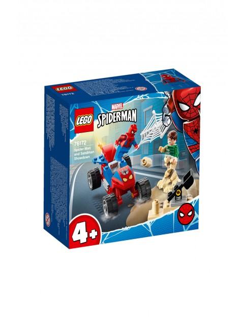 LEGO Super Heroes - Pojedynek Spider-Mana z Sandmanem - 45 el