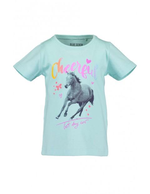 Koszulka dziewczęca z koniem