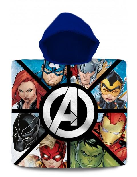 Poncho kąpielowe Avengers 120x60 cm