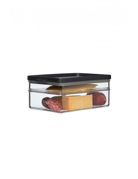 Pojemnik na wędliny i sery OMNIA 2-poziomowy BLACK