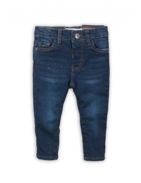 Spodnie chłopięce jeansowe - niebieskie