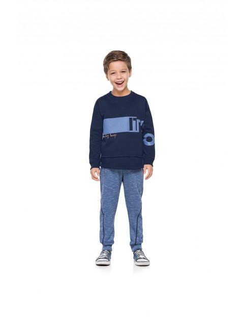 Komplet dresowy chłopięcy niebieski