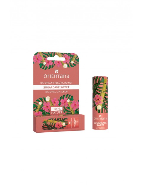 Orientana Naturalny peeling do ust Sugarcane Sweet 4,2 g