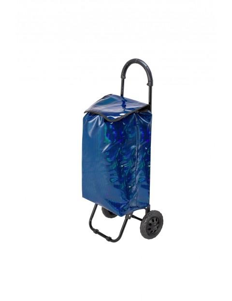 Wózek/torba za zakupy Seria Fashion granatowa