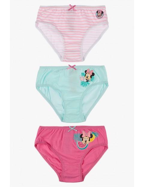 Majtki dziewczęce  Myszka Minnie 3-pack