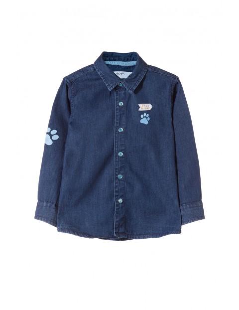 Koszula niemowlęca jeansowa 5J3503