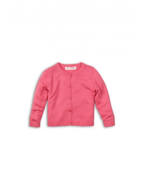 Sweter niemowlęcy różowy 5C35AO