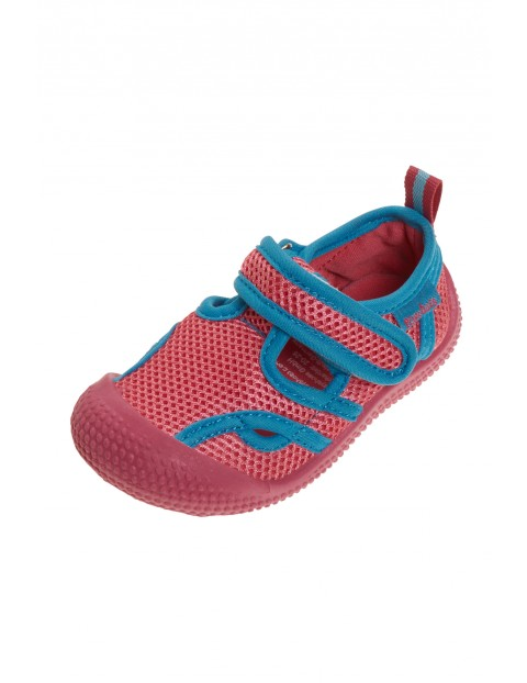 Sandałki kąpielowe z filtrem UV różowe