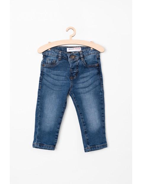 Spodnie jeansowe dla chłopca- niebieskie