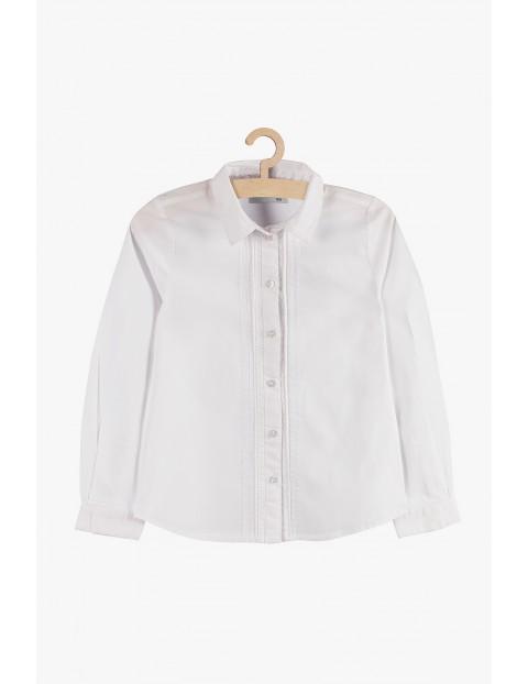 Elegancka koszula dla dziewczynki- biała