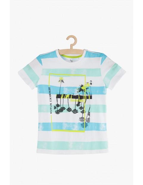 T-Shirt chłopięcy na lato