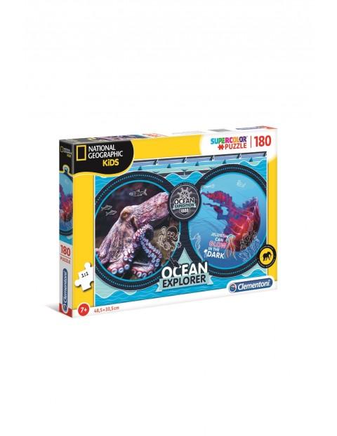 Puzzle National Geographic Wyprawa oceaniczna - 180 el wiek 7+