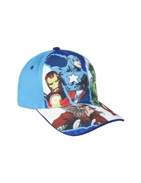 Czapka z daszkiem Avengers - niebieska rozm 53