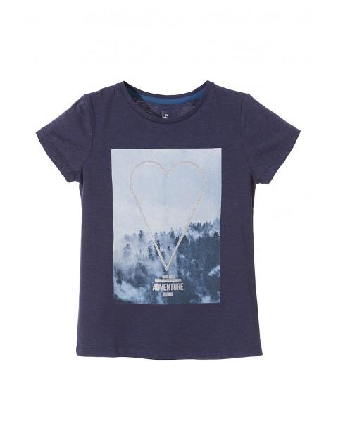 T-shirt dziewczęcy 4I3316