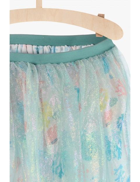 Spódnica tiulowa morskie motywy
