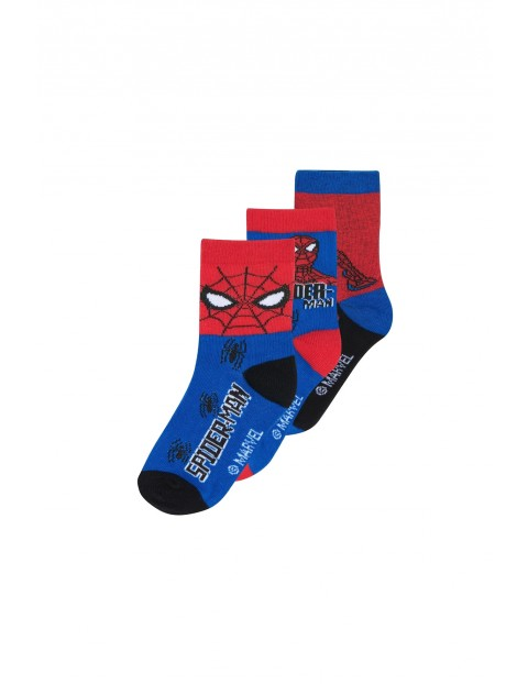 Spiderman skarpetki chłopięce 3pak