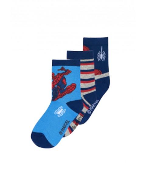 Skarpetki chłopięce 3pak Spiderman