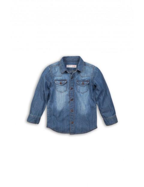 Koszula chłopięca jeansowa 1J35AF
