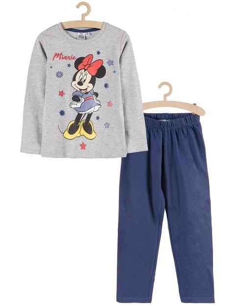 Piżama dziewczęca Myszka Minnie- spodnie i bluzka z długim rękawem