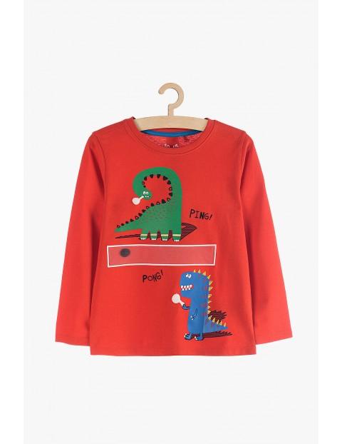 Bluzka chłopięca z dinozaurami Ping-Pong