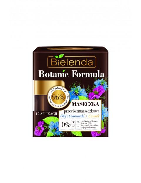 BOTANIC FORMULA Olej z Czarnuszki + Czystek Maseczka przeciwzmarszczkowa - 50ml