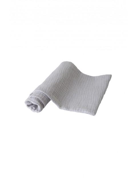 Pielucha muślinowa szara 3pak 100% bawełna, roz. 70x80cm