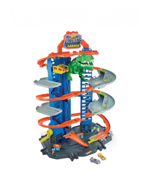 Hot Wheels City Mega Garaż T-Rexa wiek 4+