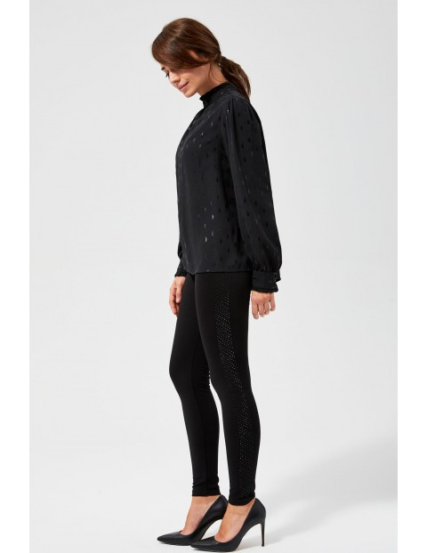 Spodnie czarne damskie