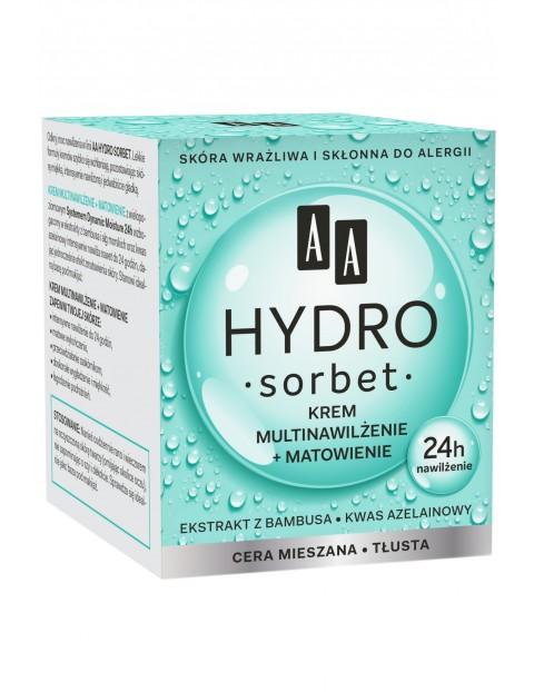 AA Hydro Sorbet krem multinawilżenie+matowienie cera mieszana/tłusta 50 ml