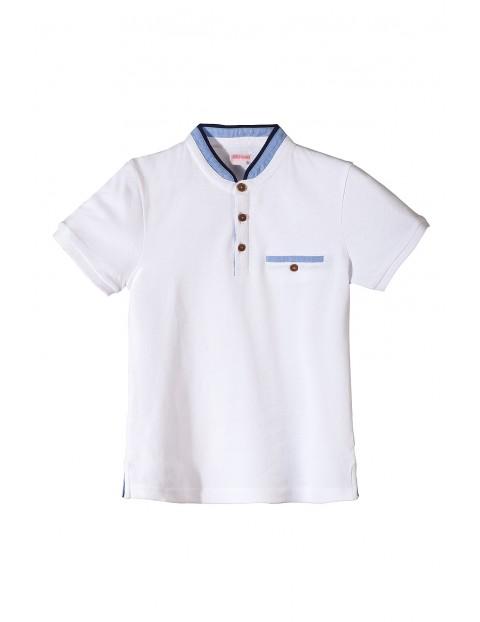 T-shirt chłopięcy biały 2I3447