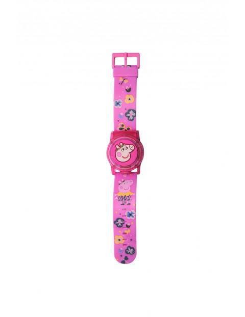 Zegarek cyfrowy ze świecącą pokrywą ochronną Peppa Pig