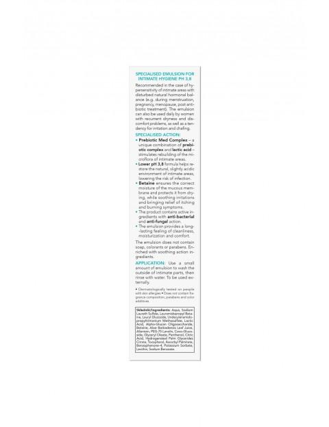 AA Intymna Advanced Med+ specjalistyczna emulsja do higieny intymnej Harmony pH 3,8 300 ml