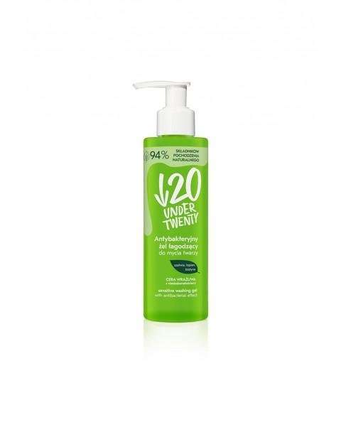 Under Twenty Antybakteryjny żel łagodzący do mycia twarzy 100ml