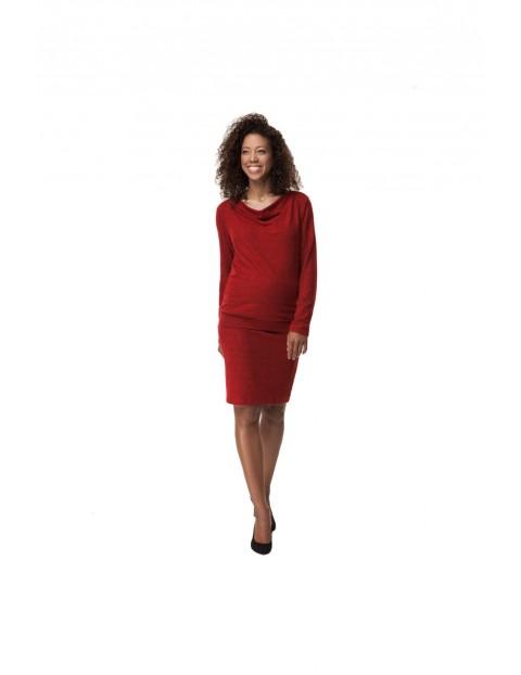 Komplet Ciążowy bluzka i spódnica 5O35LQ
