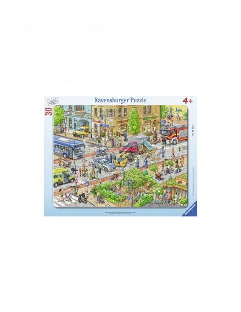 Puzzle-Podróże po mieście - 30el 4+