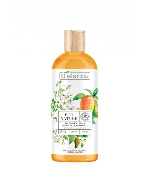 ECO NATURE - Śliwka kakadu+Jaśmin+Mango - woda micelarna do oczyszczania i demakijażu 500 ml