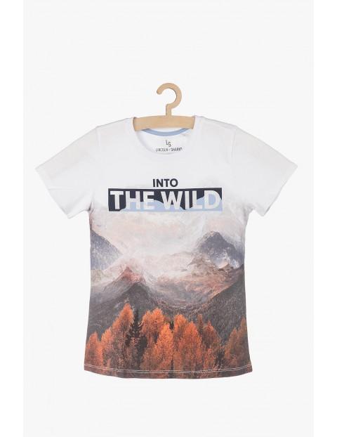 Tshirt dla chłopca-into the wild