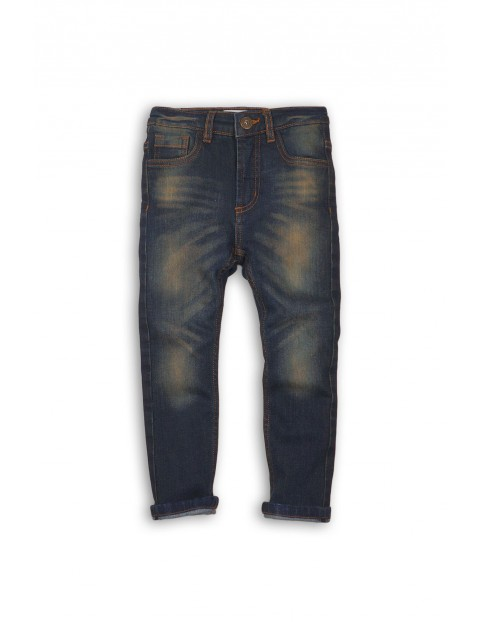 Spodnie jeansowe dla chłopca 1L35A8