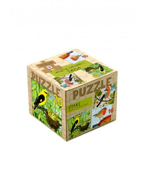 """Puzzle dla dzieci 3w1 """"Ptaki"""" Nasza Księgarnia"""
