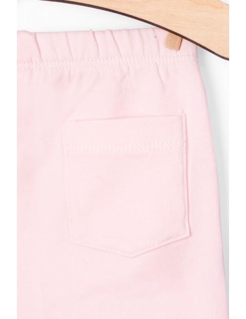 Różowe leginsy- Organic Cotton