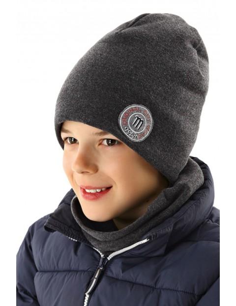 Czapka zimowa dla chłopca 2X35A5