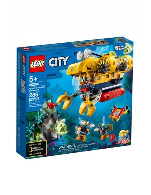Lego City - Łódź podwodna badaczy oceanu - 286 elementów wiek 5+