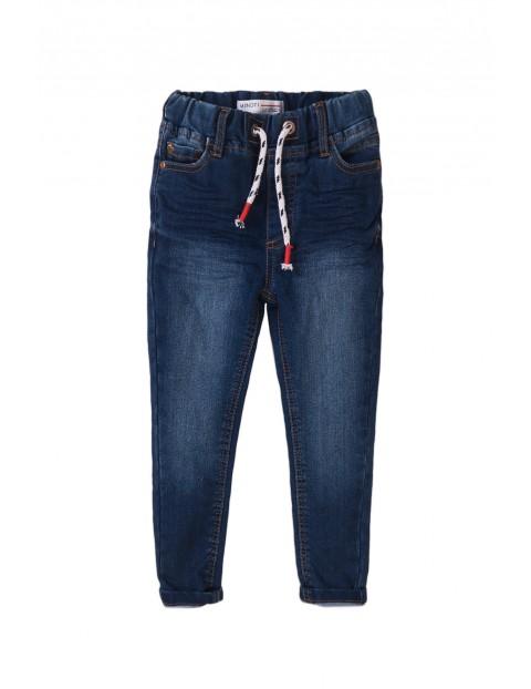 Spodnie chłopięce- granatowe jeansy