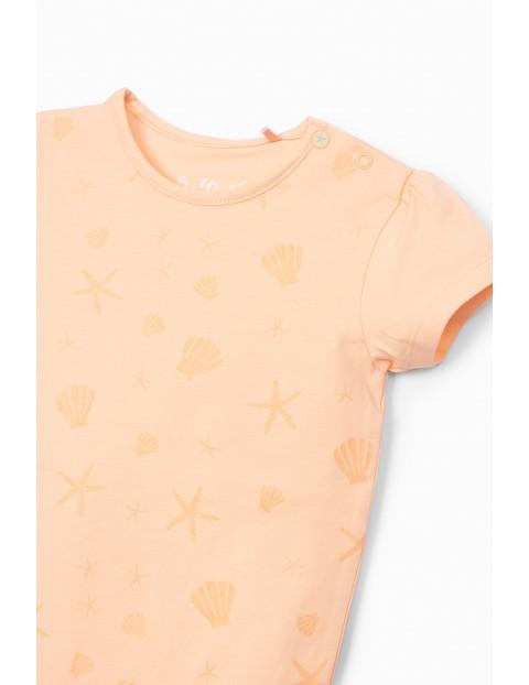 Body dziewczęce w rozgwiazdy- różowe