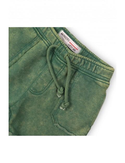 Zielone szorty dla niemowlaka