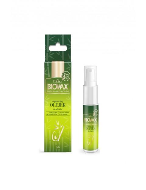 Biovax Eliksir-olejek do włosów BAMBUS, OLEJ AVOCADO 15ml