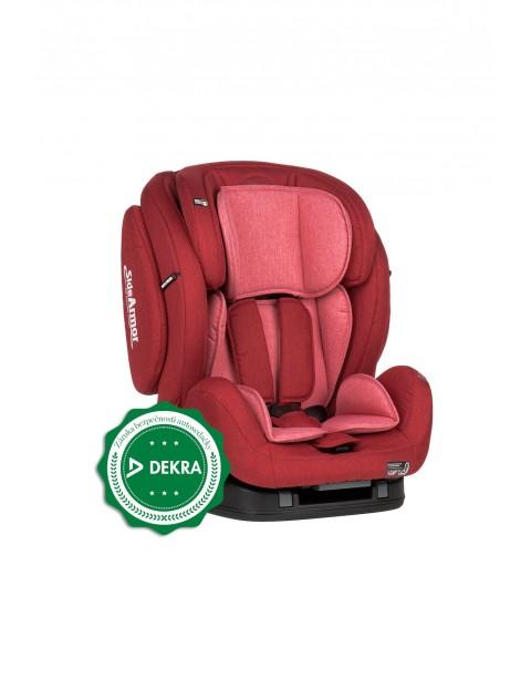 Fotelik samochodowy Prime II czerwony 9-36 kg
